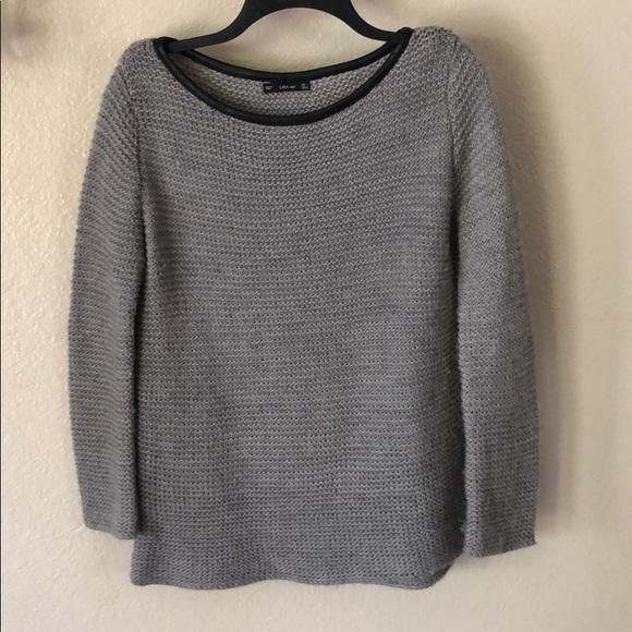 20a76eb401cc ZARA oversized crochet knit scoop neck sweater S. M 5aca5d49a825a6ce5e6f44f9